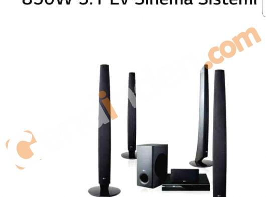 LG 5+1 SİNEMA SES SİSTEMİ