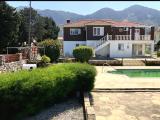 5+2, 2400m2 arsa içinde Satilik Havuzlu Villa Lapta'de