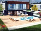 Çatalköy'De Havuzlu 4+1 Satılık Villa
